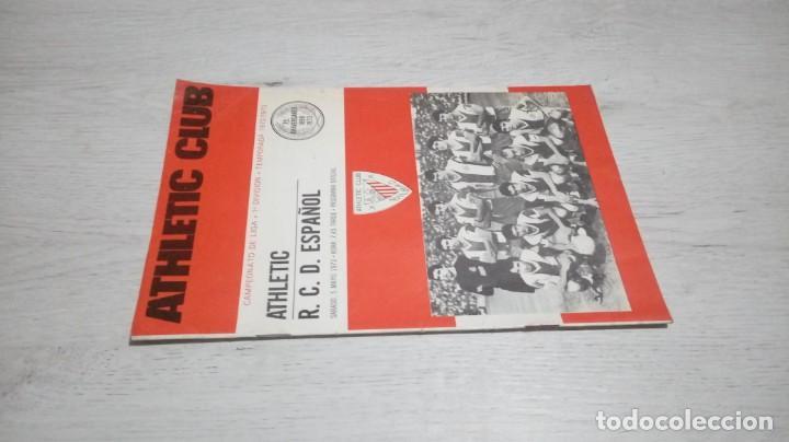 Coleccionismo deportivo: Programa oficial Athletic Club de Bilbao - R. C. D. Español temporada 72- 73. - Foto 4 - 195342377