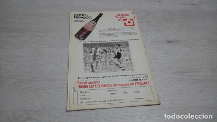 Coleccionismo deportivo: Programa oficial Athletic Club de Bilbao - R. C. D. Español temporada 72- 73. - Foto 2 - 195342570