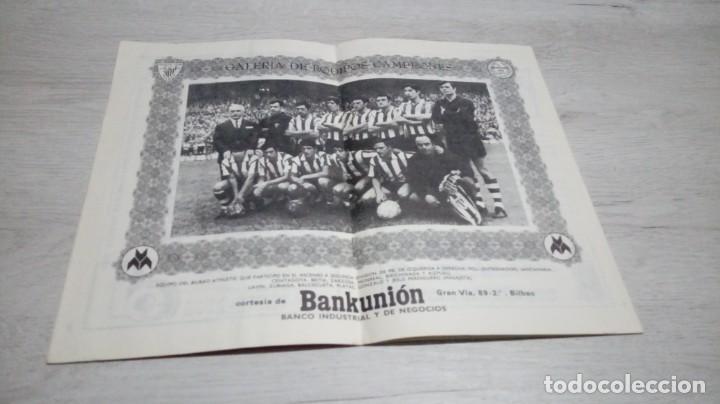 Coleccionismo deportivo: Programa oficial Athletic Club de Bilbao - R. C. D. Español temporada 72- 73. - Foto 3 - 195342570