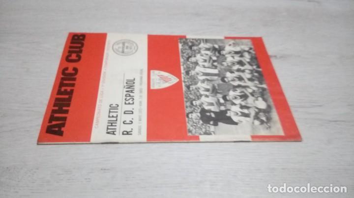 Coleccionismo deportivo: Programa oficial Athletic Club de Bilbao - R. C. D. Español temporada 72- 73. - Foto 4 - 195342570