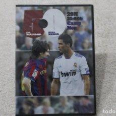 Coleccionismo deportivo: DVD FC BARCELONA REAL MADRID 5-0 29N PRECINTADO. Lote 195574010