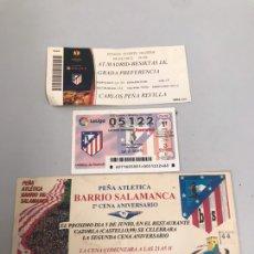Coleccionismo deportivo: LOTE ATLÉTICO DE MADRID. Lote 196035836