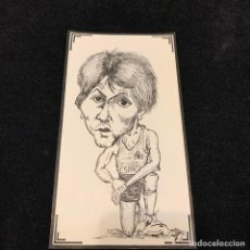 Coleccionismo deportivo: UNICO - DIBUJO ORIGINAL - BALONCESTO - ANDRES JIMENEZ FERNANDEZ - SELECCION ESPAÑOLA BARCELONA 1985. Lote 196143238