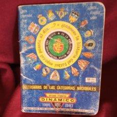 Coleccionismo deportivo: CALENDARIO DINÁMICO 1986-1987. Lote 196398447