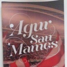 Coleccionismo deportivo: PROGRAMA DEL ULTIMO PARTIDO DE SAN MAMES ATHLETIC BILBAO 2013. Lote 198628893