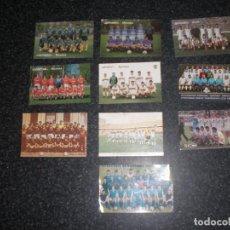 Coleccionismo deportivo: LOTE 10 ALMANAQUES EQUIPOS FÚTBOL (VER RELACIÓN). Lote 198833596