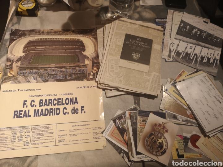 LOTE REAL MADRID. COLECCIÓN DEL REAL MADRID. (Coleccionismo Deportivo - Documentos de Deportes - Otros)
