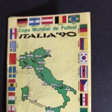 Coleccionismo deportivo: CALENDARIO COPA MUNDIAL DE FUBOL ITALIA 90. Lote 199768000