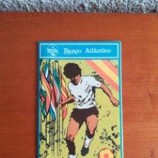 Coleccionismo deportivo: PLANO BCN DESPLEGABLE COPA MUNDIAL DE FUTBOL ESPAÑA 1982 - PROMOCIÓN BANCO ATLÁNTICO. Lote 199804577