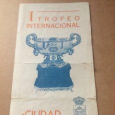 Coleccionismo deportivo: PROGRAMA 1970 ANDERLECHT VALENCIA SAN LORENZO SEVILLA CIUDAD LÍNEA. Lote 202870782