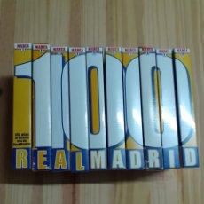 Coleccionismo deportivo: VHS,100 AÑOS DE LA HISTORIA VIVA DEL REAL MADRID, AÑO 2001. Lote 203197966