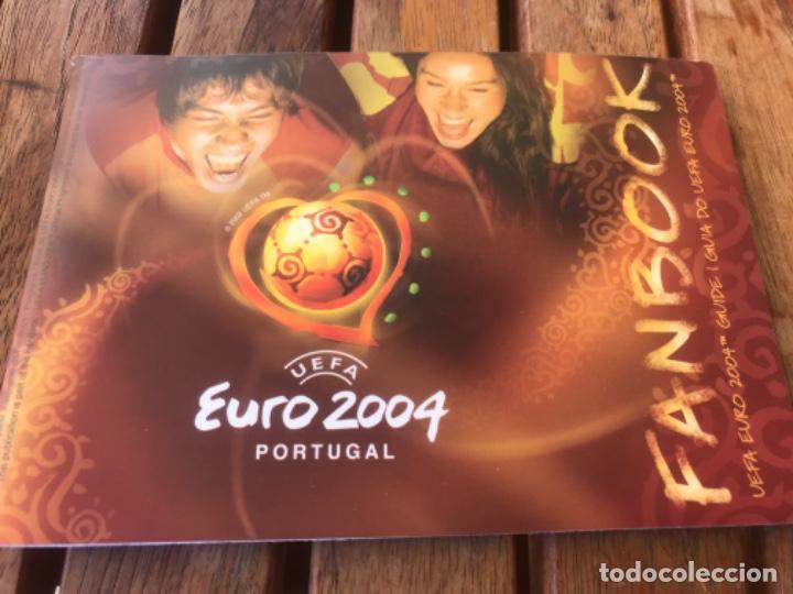 FANBOOK POCKET GUIDE OF UEFA EURO 2004 PORTUGAL (Coleccionismo Deportivo - Documentos de Deportes - Otros)
