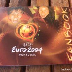 Coleccionismo deportivo: FANBOOK POCKET GUIDE OF UEFA EURO 2004 PORTUGAL. Lote 203374756