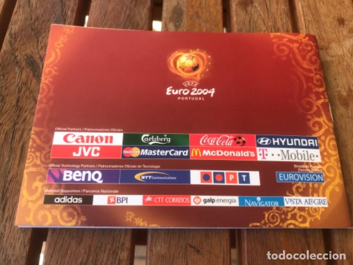Coleccionismo deportivo: Fanbook Pocket Guide of Uefa Euro 2004 Portugal - Foto 2 - 203374756