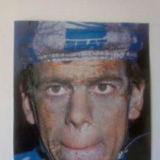 Coleccionismo deportivo: FOTO PELLO RUIZ CABESTANY EN LA HET-VOLK DE 1987. (21 X 27,5 CM). Lote 205669635