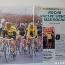 Coleccionismo deportivo: REPORTAJE VUELTA A LA COMUNIDAD VALENCIANA. CICLISMO. AÑO 1987. 5 PÁGINAS.. Lote 205671696