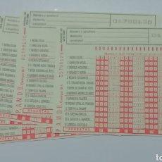 Coleccionismo deportivo: QUINIELAS LOTE 4 UNIDADES NUEVAS JORNADA 43 23-6-1985. Lote 206268065