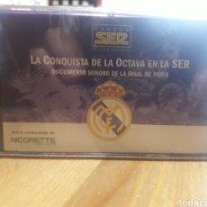 Coleccionismo deportivo: REAL MADRID, DOCUMENTO SONORO ( PRECINTADA ). Lote 206372675
