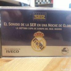 Coleccionismo deportivo: REAL MADRID, LA SEPTIMA COPA DE EUROPA, DOCUMENTO SONORO. Lote 206375047