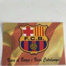 Coleccionismo deportivo: POSTAL COLECCIONISTA ENVIADA DE AMICS DE JOSEP SUNYOL A RONALDO FC BARCELONA 1996. Lote 206449570