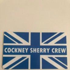 Coleccionismo deportivo: ADHESIVO COCKNEY SHERRY CREW JEREZ ULTRAS XEREZ PEGATINA. Lote 206450046