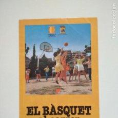 Coleccionismo deportivo: FOLLETO PROMOCIONAL BASKET AL CARRER AÑOS 80 GENERALITAT DE CATALUNYA. Lote 209972325