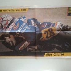 Coleccionismo deportivo: POSTER ALEX CRIVILLÉ. Lote 209977285