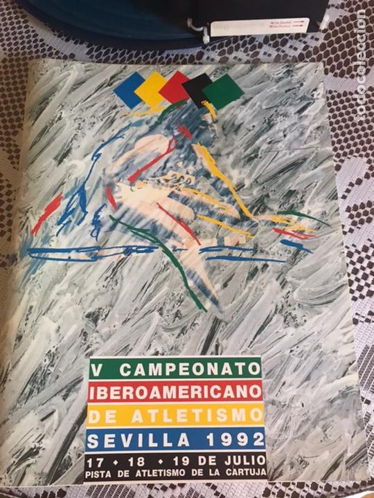 PROGRAMA V CAMPEONATOS IBEROAMERICANOS SEVILLA 1992 (Coleccionismo Deportivo - Documentos de Deportes - Otros)