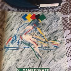 Coleccionismo deportivo: PROGRAMA V CAMPEONATOS IBEROAMERICANOS SEVILLA 1992. Lote 210224561