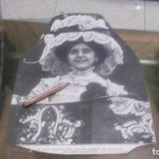 Coleccionismo deportivo: RECORTE AÑO 1909 - LA TIPLE COMICA SRTA.AMPARO FERRER , EN LA PLAZA DE TOROS DE SEVILLA. Lote 210478317