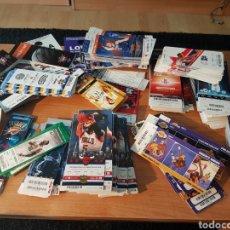 Coleccionismo deportivo: LOTE 500 ENTRADAS NBA OFERTON!!!!. Lote 210537008