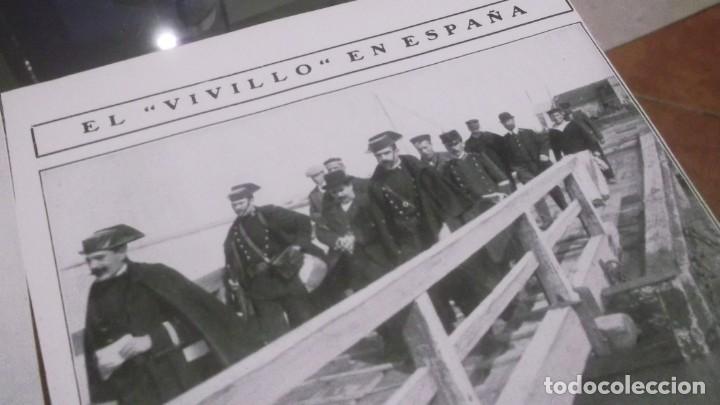 Coleccionismo deportivo: RECORTE AÑO 1909 . CADIZ. LLEGÓ EL BANDOLERO JOAQUIN CAMARGO GOMEZ(EL VIVILLO)ESTEPA(SEVILLA) - Foto 2 - 211426406