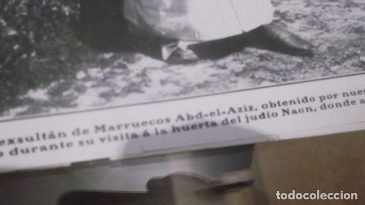 Coleccionismo deportivo: RECORTE AÑO 1909 . CADIZ. LLEGÓ EL BANDOLERO JOAQUIN CAMARGO GOMEZ(EL VIVILLO)ESTEPA(SEVILLA) - Foto 5 - 211426406