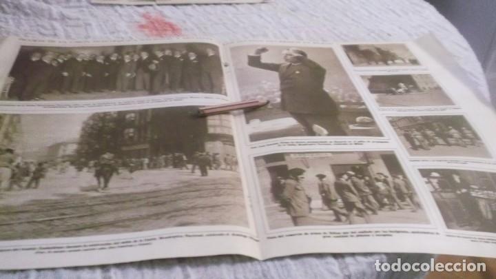 RECORTE AÑOS 1930 - BILBAO.MITÌN DE LA UNIÓN MONARQUICA NACIONAL.ATRAS ZARAGOZA INDALENCIO PRIETO (Coleccionismo Deportivo - Documentos de Deportes - Otros)