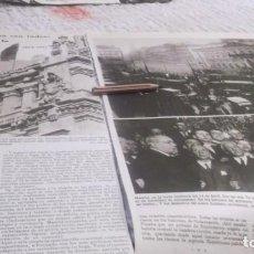 Coleccionismo deportivo: RECORTE AÑO 1931.MADRID.PROCLAMA LA 2ª REPUBLICA.SALIERON DEESPAÑA REINA VICTORIA.GOBIERNO REPUBLICA. Lote 211971448