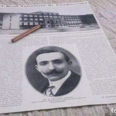 Coleccionismo deportivo: RECORTE AÑO 1915.MADRID.EL REAL SANATORIO DE GUADARRAMA ANTITUBERCULOSOS ,EN PINARES NAVACERRADA. Lote 212416808