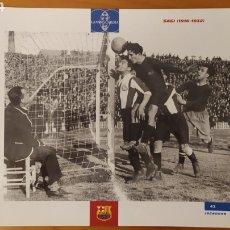 Coleccionismo deportivo: LÁMINA DE SAGI DE LA COLECCIÓN EL GRAN LIBRO DEL BARÇA DE LA VANGUARDIA. FC BARCELONA. Lote 213102937