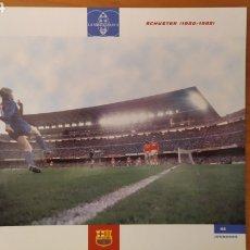 Coleccionismo deportivo: LÁMINA DE SCHUSTER DE LA COLECCIÓN EL GRAN LIBRO DEL BARÇA DE LA VANGUARDIA. FC BARCELONA. Lote 213103123