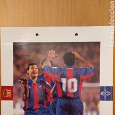 Coleccionismo deportivo: LÁMINA DE STOICHKOV DE LA COLECCIÓN EL GRAN LIBRO DEL BARÇA DE LA VANGUARDIA. FC BARCELONA. Lote 213103666