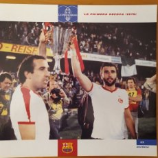 Coleccionismo deportivo: LÁMINA LA PRIMERA RECOPA 1979 DE LA COLECCIÓN EL GRAN LIBRO DEL BARÇA DE LA VANGUARDIA. FC BARCELONA. Lote 213122690