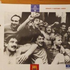 Coleccionismo deportivo: LÁMINA URRUTI T'ESTIMO 1985 DE LA COLECCIÓN EL GRAN LIBRO DEL BARÇA DE LA VANGUARDIA. FC BARCELONA. Lote 213122697