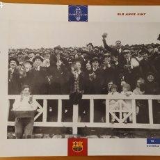 Coleccionismo deportivo: LÁMINA LOS AÑOS VEINTE DE LA COLECCIÓN EL GRAN LIBRO DEL BARÇA DE LA VANGUARDIA. FC BARCELONA. Lote 213123542
