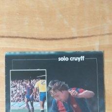 Coleccionismo deportivo: REPORTAJE FOTOGRÁFICO DE JOHAN CRUYFF.FC BARCELONA.. Lote 213151313