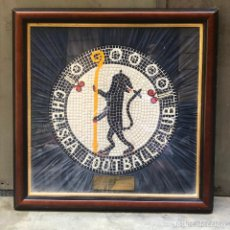 Coleccionismo deportivo: CHELSEA FOOTBALL CLUB - A CERAMIC MOSAIC REMOVED FROM THE OLD BOARDROOM AT STAMFORD BRIDGE.. Lote 213223328