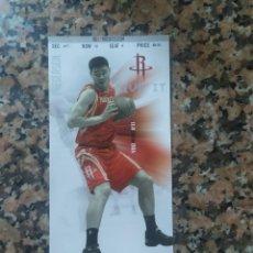 Coleccionismo deportivo: NBA ENTRADA ORIGINAL YAOO MING ROCKETS VS MEMPHIS GRIZZLIES. Lote 213343688