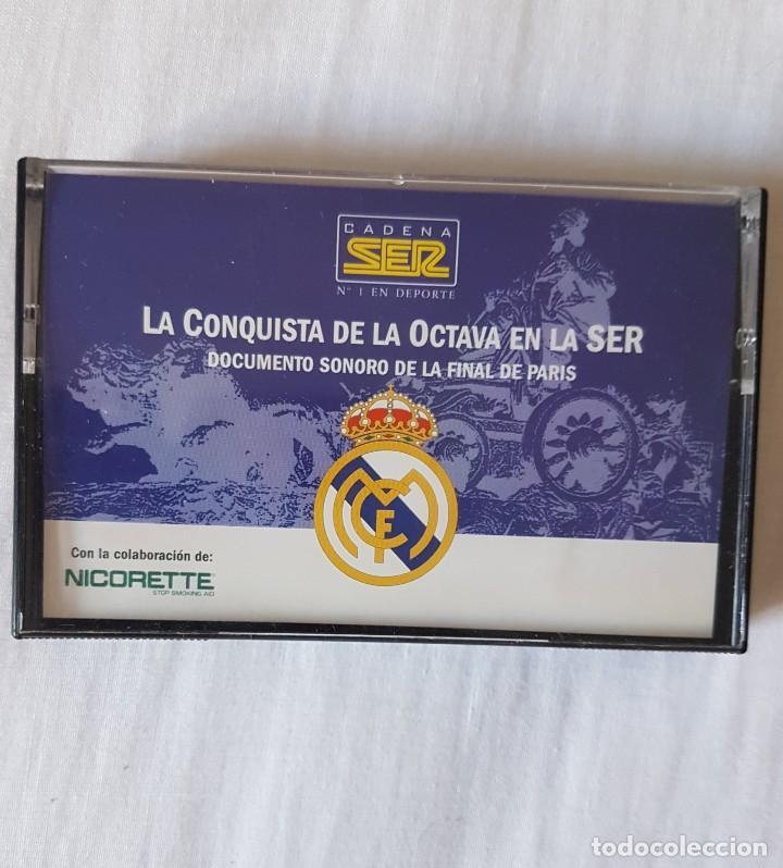 LA CONQUISTA DE LA OCTAVA EN LA SER. REAL MADRID. (Coleccionismo Deportivo - Documentos de Deportes - Otros)