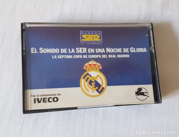 LA SÉPTIMA COPA DE EUROPA DEL REAL MADRID. CASETTE (Coleccionismo Deportivo - Documentos de Deportes - Otros)