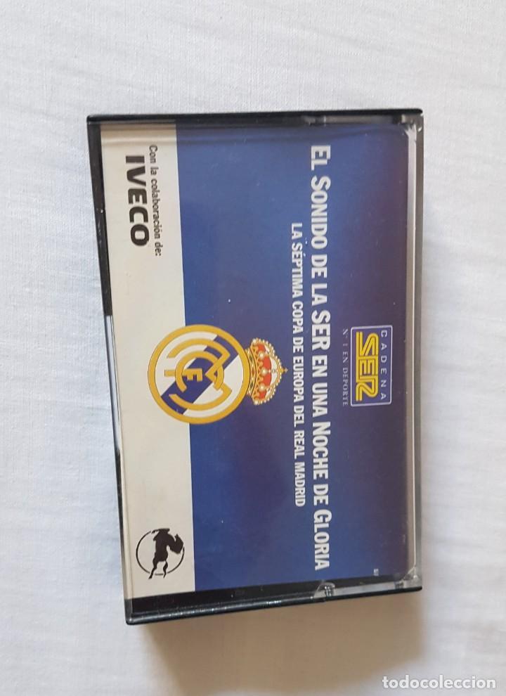 Coleccionismo deportivo: La séptima Copa de Europa del Real Madrid. Casette - Foto 2 - 213425150