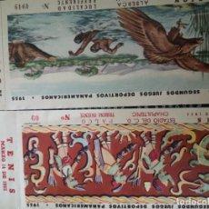 Coleccionismo deportivo: SEGUNDOS JUEGOS DEPORTIVOS PANAMERICANOS 1955. Lote 214100458