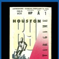 Coleccionismo deportivo: ENTRADA VIP NBA ALL STARS 1989. Lote 214572218